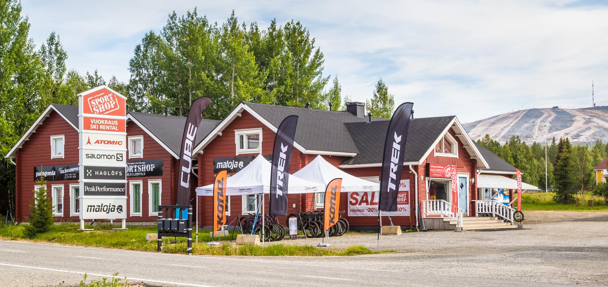Rentle helped Äkäslompolo Sportshop in doubling their revenue
